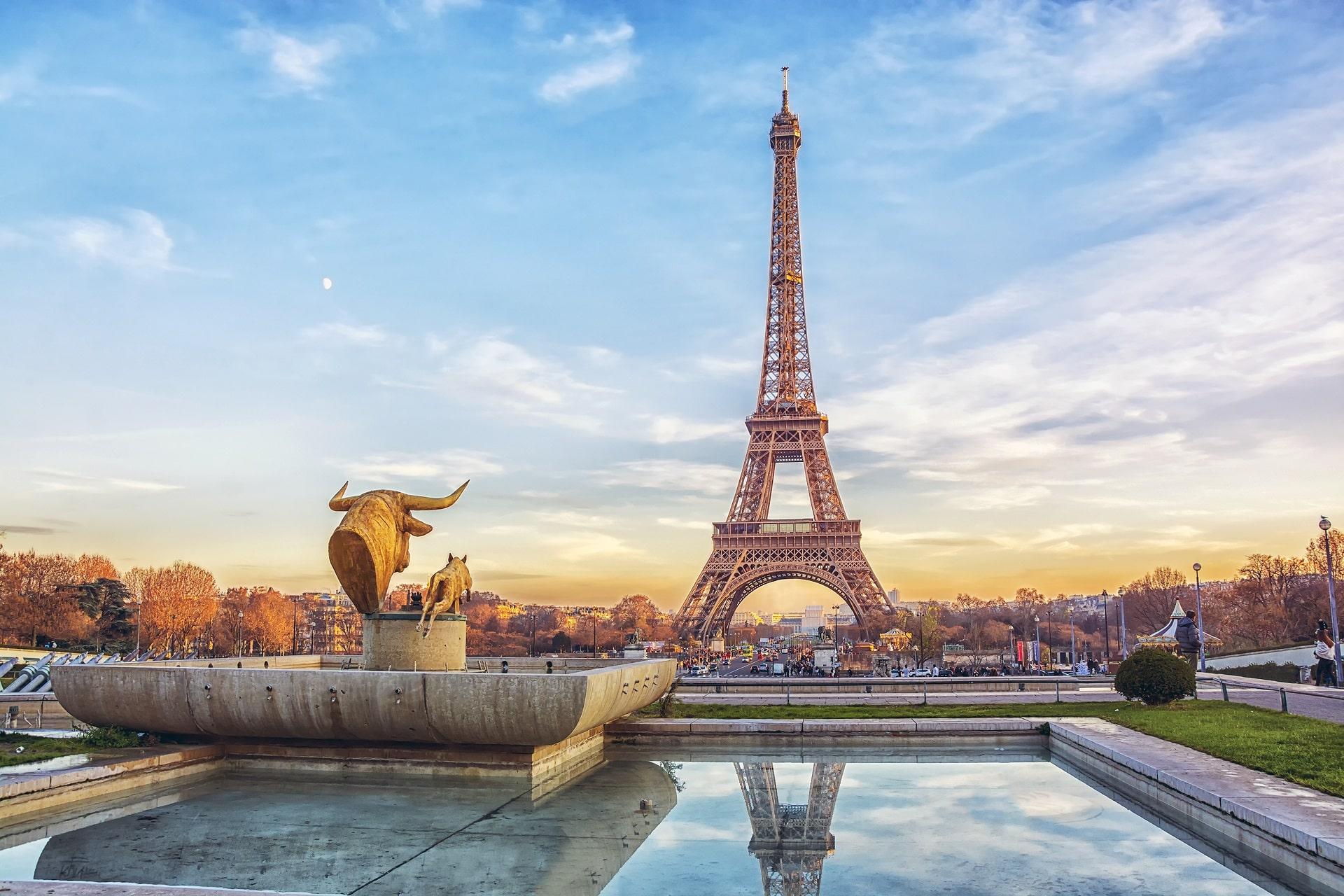Paris-Sunset