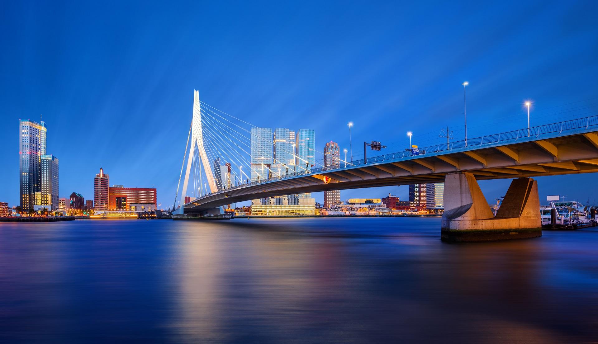 Rotterdam Bridge Netherlands – 234569443