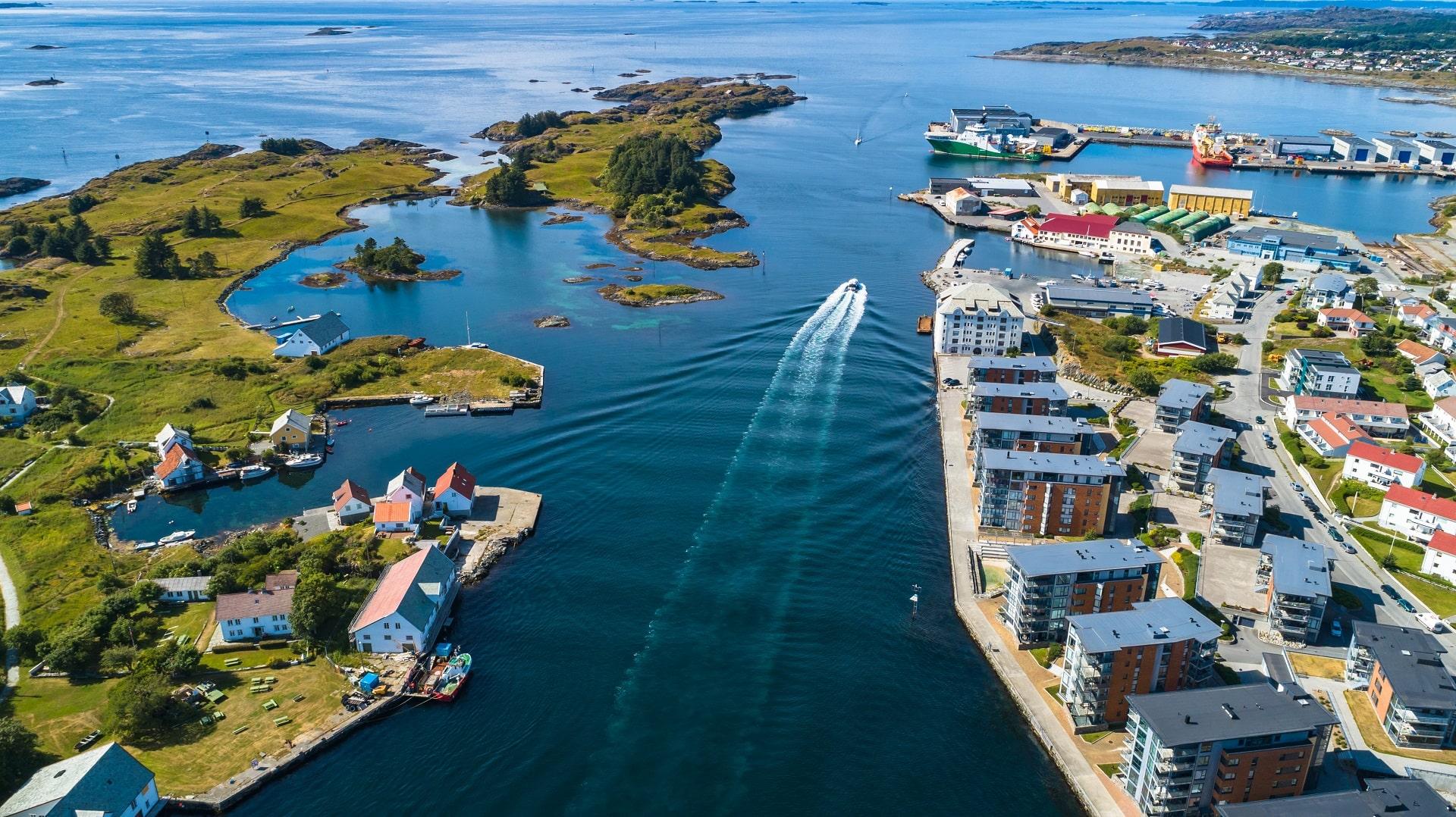 Haugesund-Aerial-Norway