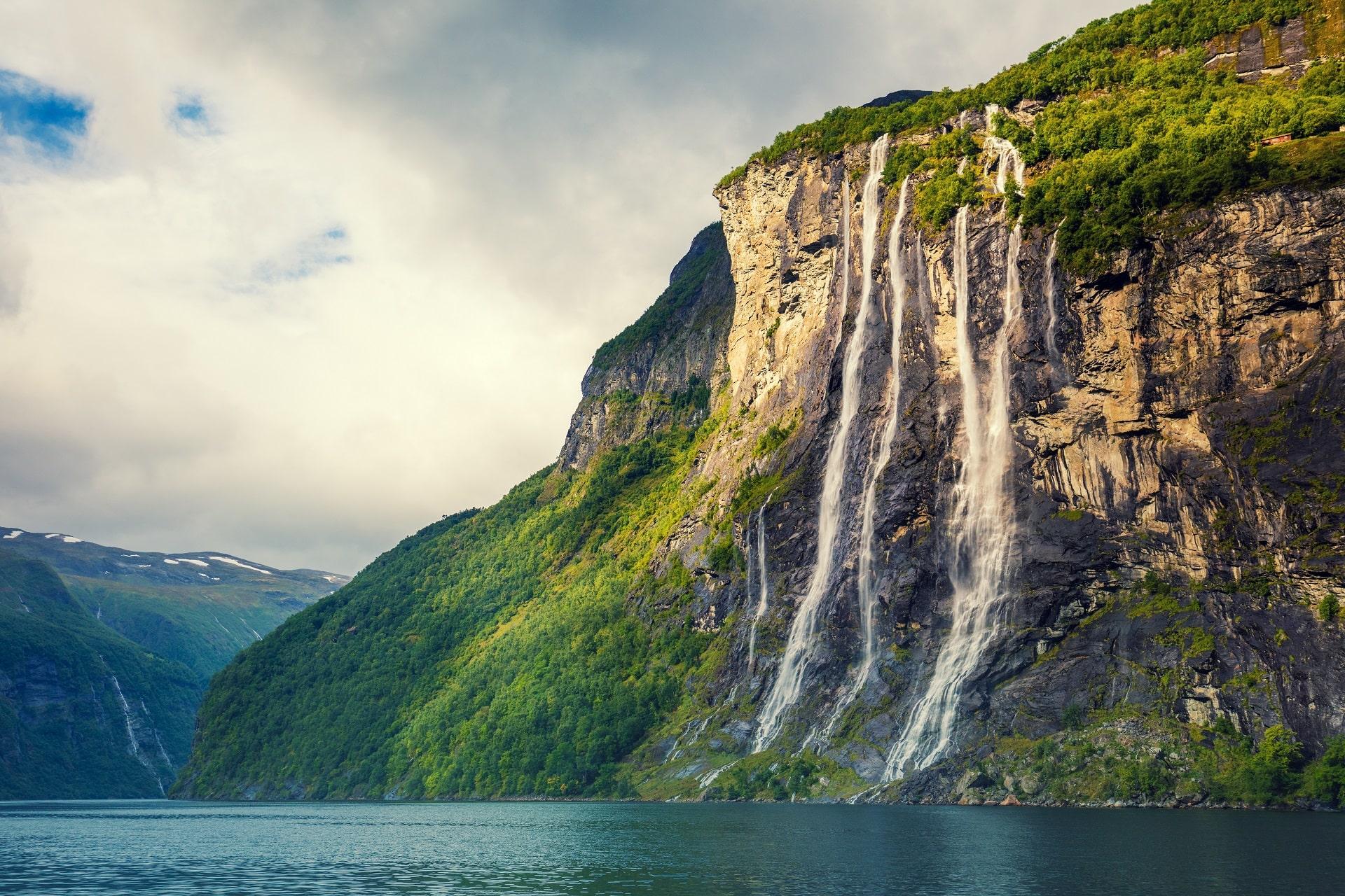Seven Sisters Waterfall, Geirangerfjord