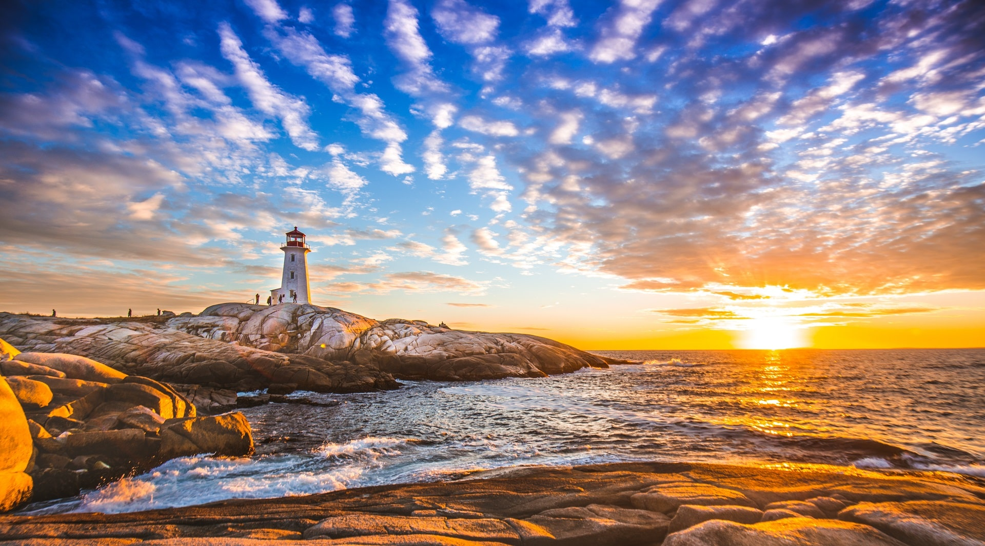 Halifax Lighthouse, Nova Scotia, Canada