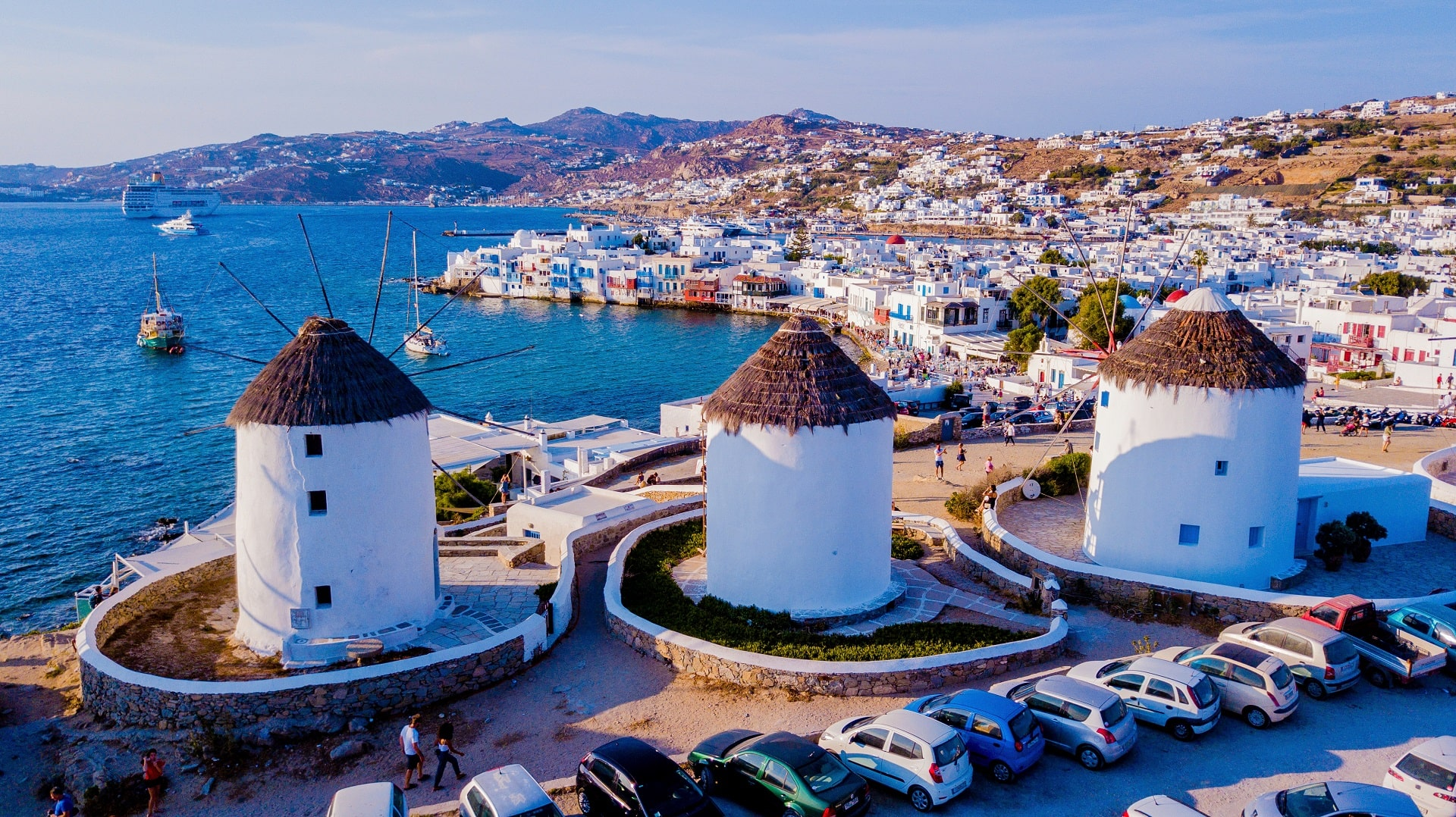 Mykonos Windmills - Greece