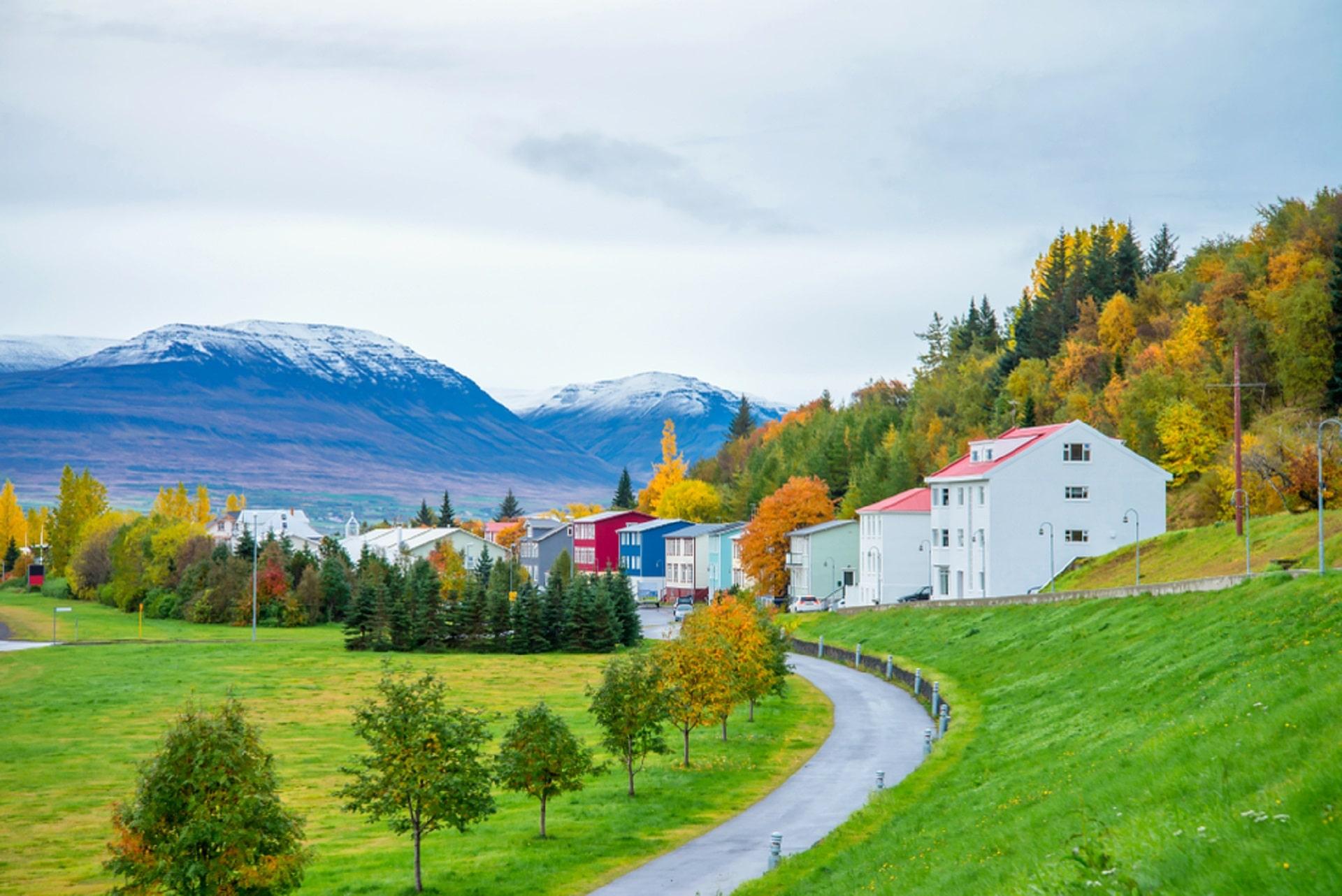 Akureyri-Iceland