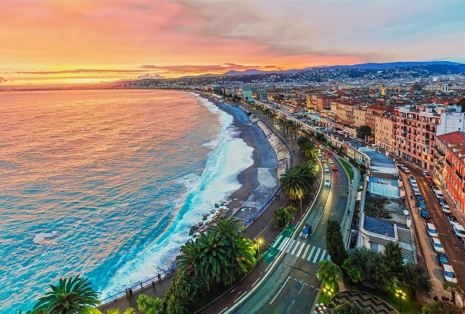 Nice-France-Sunset