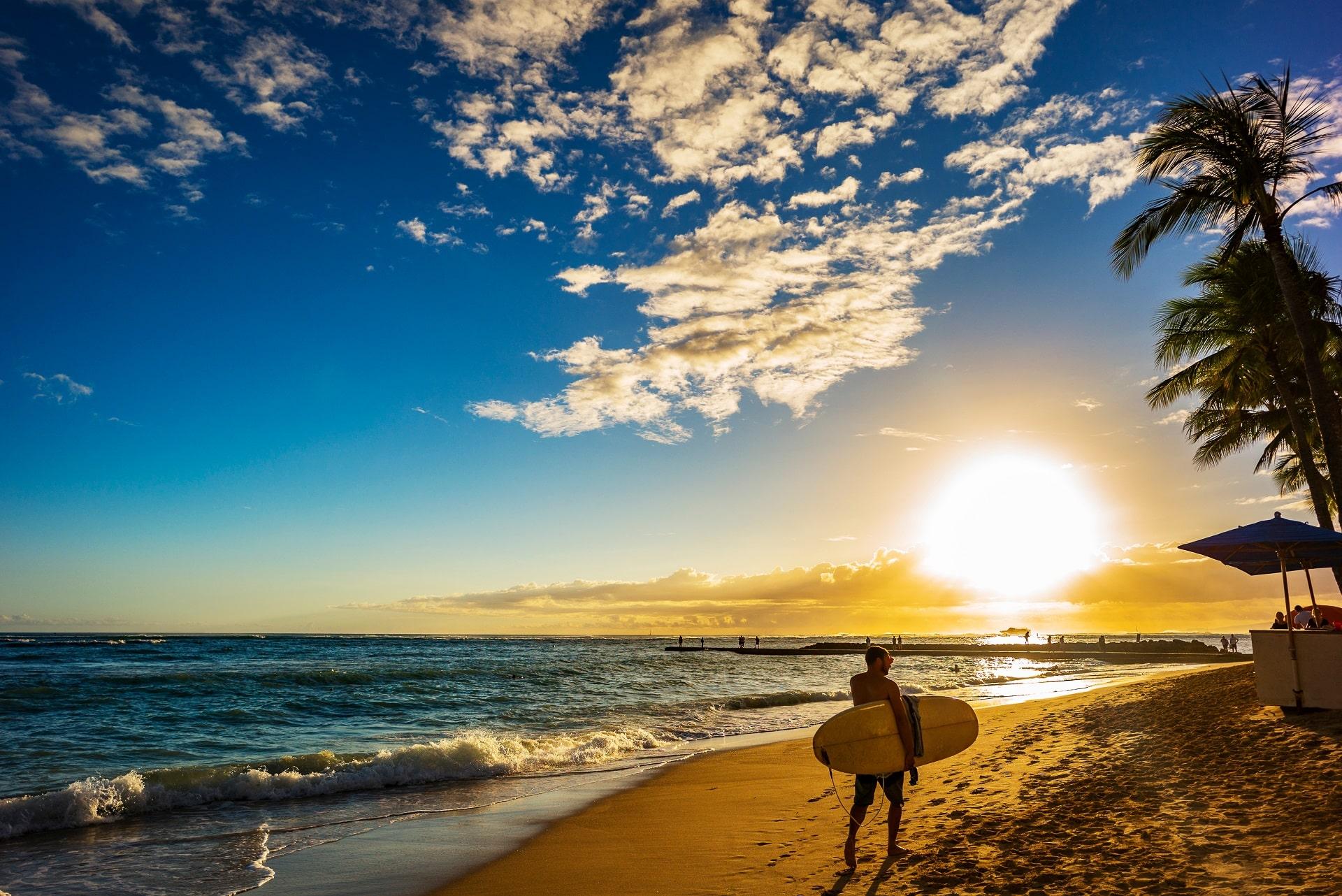 Honolulu-Waikiki-Beach
