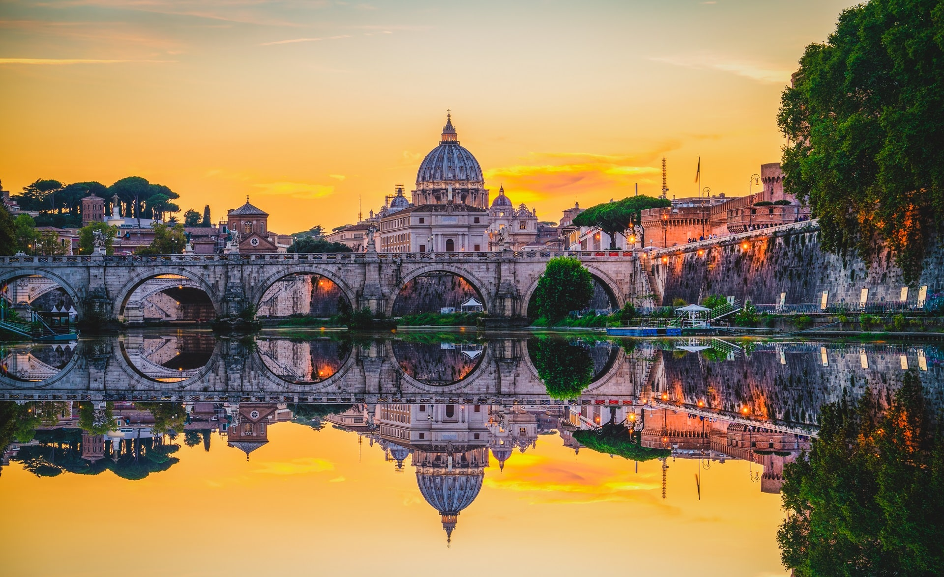 Rome-Italy-Sunset