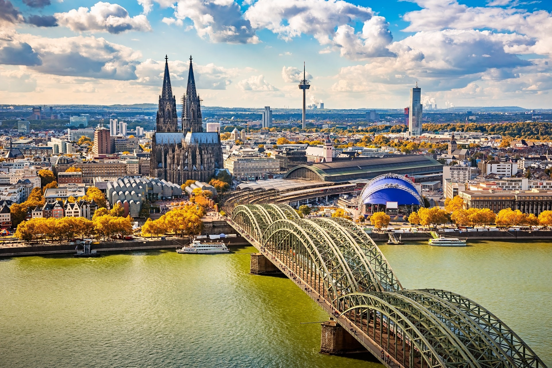 Cologne-Aerial
